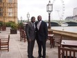 Kelvin with MP David Lammy