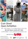 Cork St Exhibition August 2013
