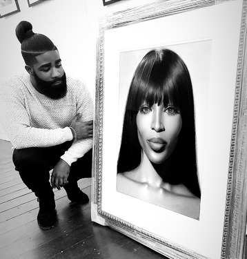 KO and Naomi framed BW