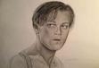Leonardo Dicaprio by Lewis Lines